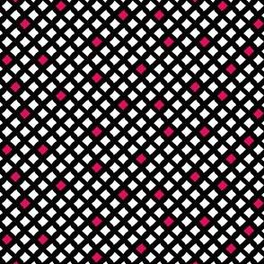 Arizona Diamonds (Black, White and Pink)