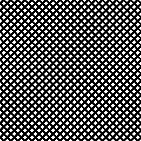 Arizona Diamonds (Black and White) fabric by robyriker on Spoonflower - custom fabric