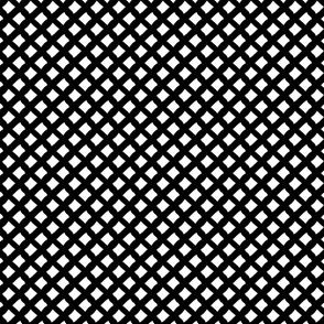 Arizona Diamonds (Black and White)