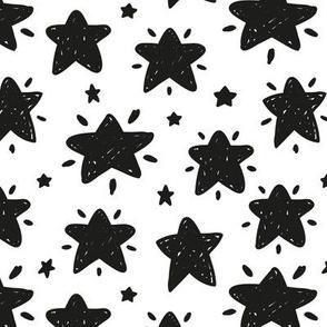 Shining Stars b&w