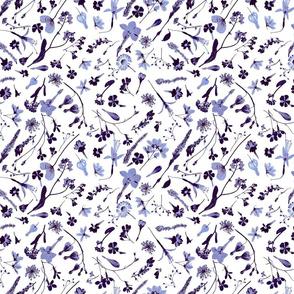 indigo floral sm