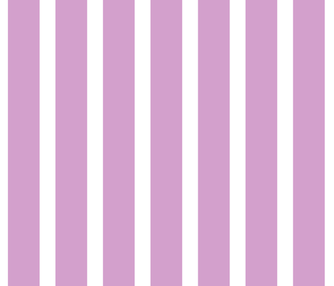 Stripes in #d3a0cc and white fabric by anniedeb on Spoonflower - custom fabric