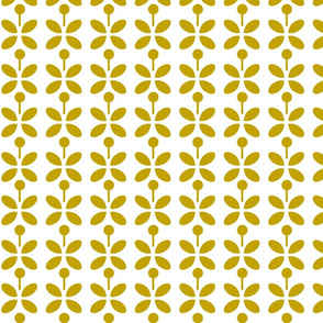 petal dots yellow