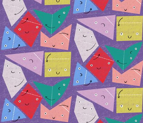 Fold me fabric by anda on Spoonflower - custom fabric