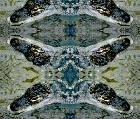 Gator_Baby fabric by jacneed on Spoonflower - custom fabric