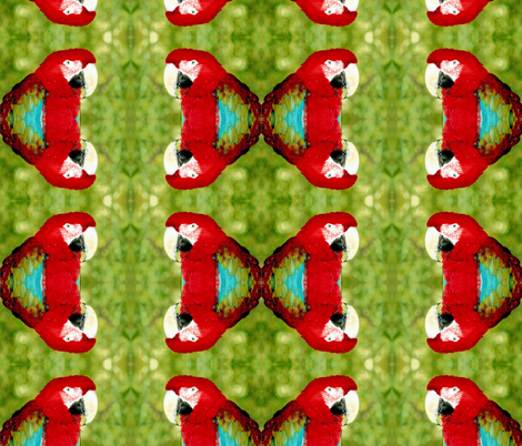 Parrot fabric by jacneed on Spoonflower - custom fabric