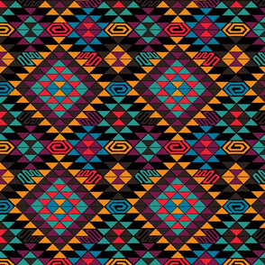 Kilim in Jewel Tones