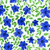 Spring flowers-blue