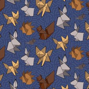 woodland origami