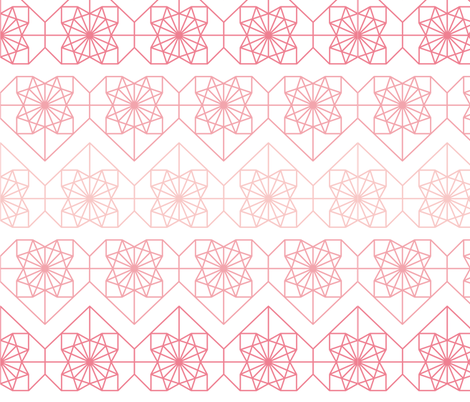 Love Origami fabric by katherinecory on Spoonflower - custom fabric