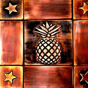 Copper Pineapple