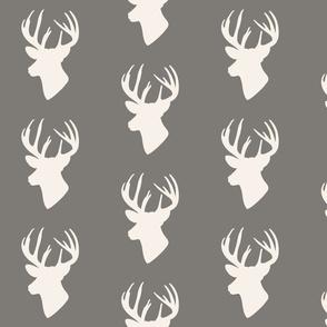 Woodland Deer Head