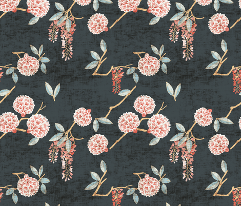 FLORALISTA fabric by holli_zollinger on Spoonflower - custom fabric