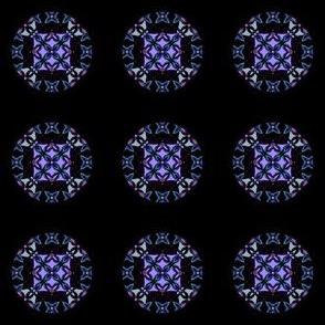 Sparkly Kaleidoscope Dots
