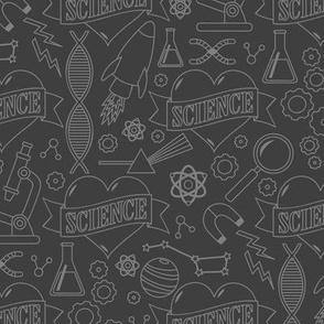 Scientific Tattoos (Grayscale)