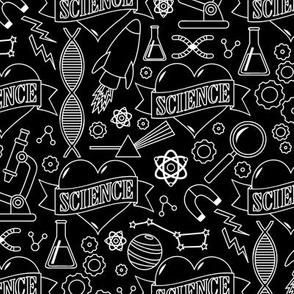 Scientific Tattoos (Black and White)