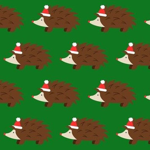 Christmas Hedgehogs