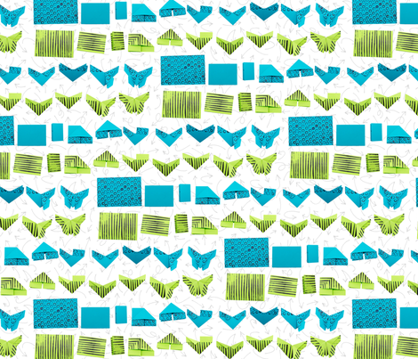 Follow Along fabric by beckarahn on Spoonflower - custom fabric