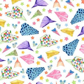 origami-airplane