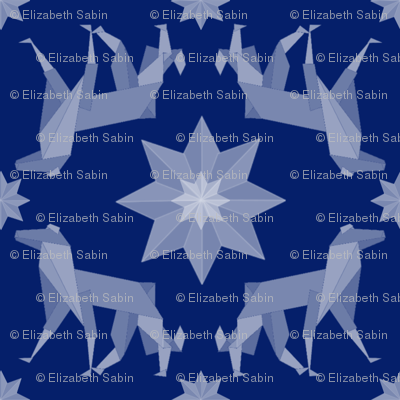 borzoigami dark blue