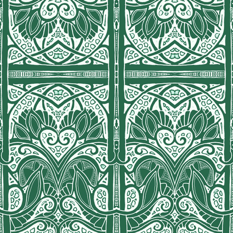 Be Still My Old Gothic Heart fabric by edsel2084 on Spoonflower - custom fabric