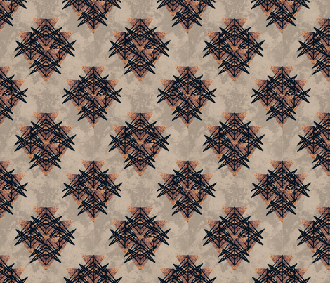 repeat ox2 fabric by danaem on Spoonflower - custom fabric