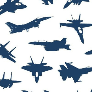Navy Fighter Jets // Large