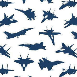 Navy Fighter Jets // Small