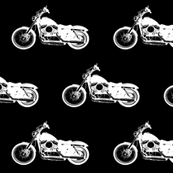 White Harleys // Large