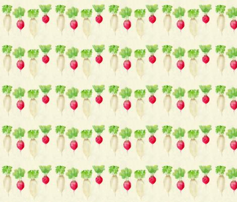 Radish Garden fabric by bzedan on Spoonflower - custom fabric