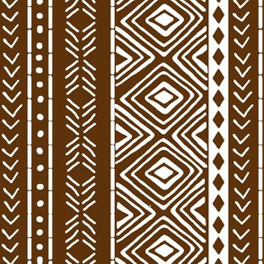 Mocha Mud Cloth // Small