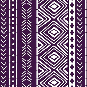 Plum Mud Cloth // Small