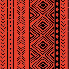 Red Mud Cloth // Small