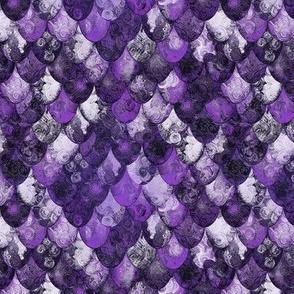 Michael: Nine  / Purple, silver, black