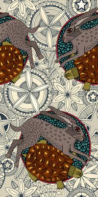 hare tortoise mandala
