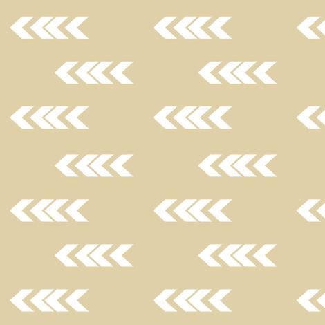 ARROWHEAD KHAKI fabric by moosedesigncompany on Spoonflower - custom fabric