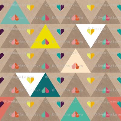 small origami heart