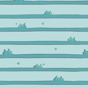 Stripes of Kitties