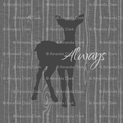 Always Doe - Dark Grey