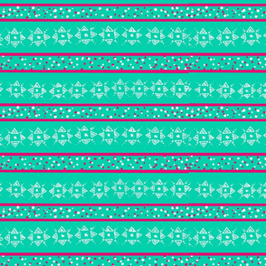Cheery Mint Geometrics