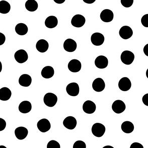 Big Black White Spots