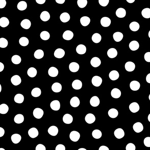 Big White Black Spots