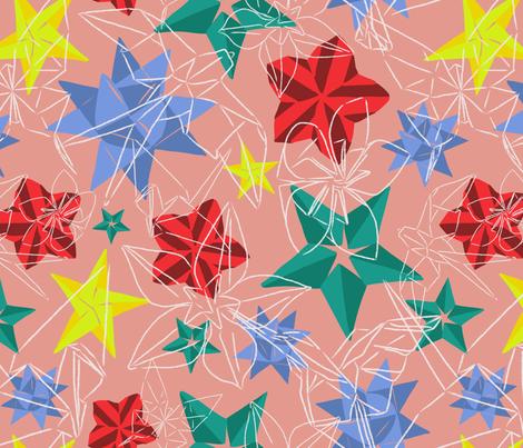 Origami Multicolor fabric by pommynewyork on Spoonflower - custom fabric