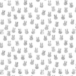 small bunnies in light grey