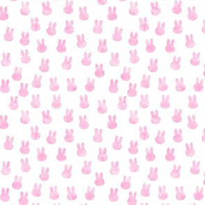 small bunnies in pink