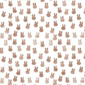 small bunnies in beige