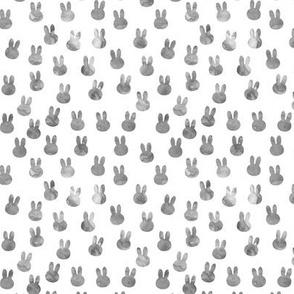 small bunnies in grey