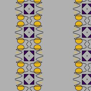 Menorah evolution silver gray