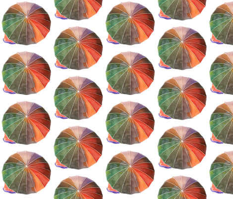 Umbrella Kiss fabric by jvclawrence on Spoonflower - custom fabric