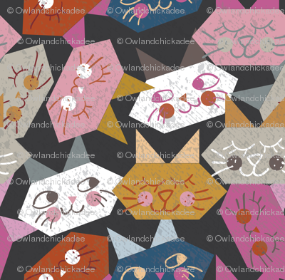 Origami Kitties